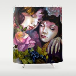 Protection Between Us Shower Curtain