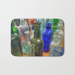 Glass Bottles (2) Bath Mat