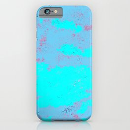 Malt and barley blue day. iPhone Case