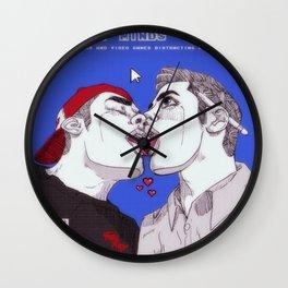 distraction residue Wall Clock