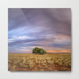 Stormy Sunset Metal Print