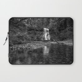 Upper North Falls bw Laptop Sleeve