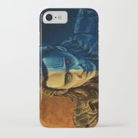 loki iPhone & iPod Cases featuring Loki by Sara Cooley