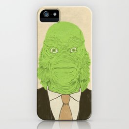 Young Professional from the Black Lagoon iPhone Case