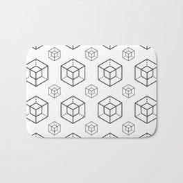 Enigma - Crypto Fashion Art (Large) Bath Mat