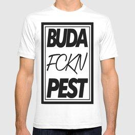 Buda fckn pest T-shirt