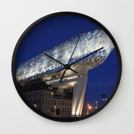 The Antwerp Port House | Zaha H A D I D | architect | Wall Clock