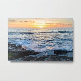 Ocean Beach Tide Pools Metal Print