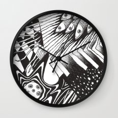 PSYKE2 Wall Clock