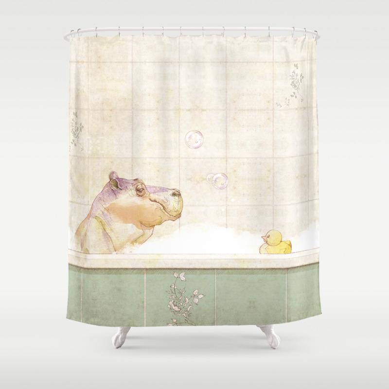 Mallard duck shower curtain - Mallard Duck Shower Curtain 38