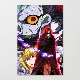 Death Note Canvas Print
