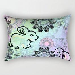 Easter Egg Pattern Rectangular Pillow