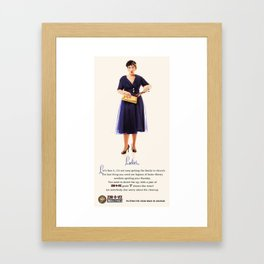 Zom-B-Vex series Framed Art Print
