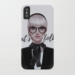 That's__folks! iPhone Case