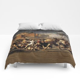 The Intercession of the Sabine Women Comforters