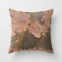 Texture #18 Rust Throw Pillow