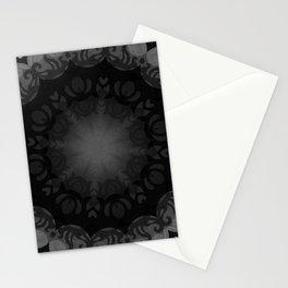 Dark Mandala #1 Stationery Cards