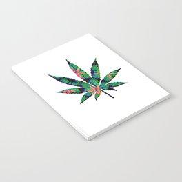 Cannabis Rainbow Design (19) Notebook
