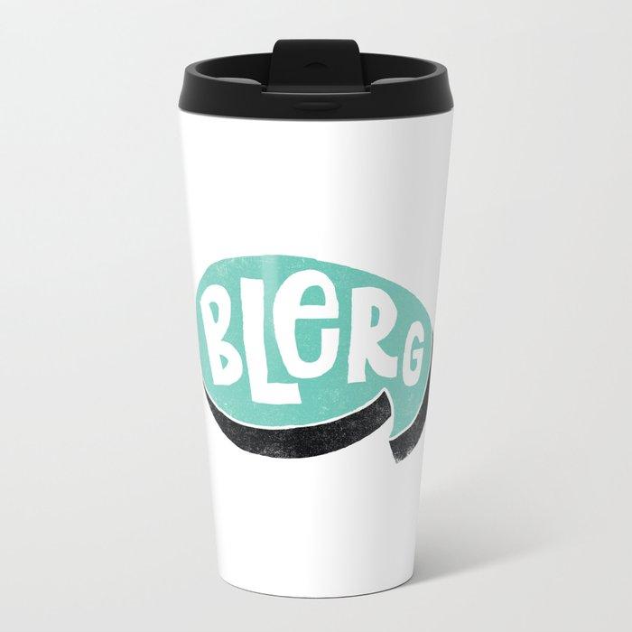 BLERG Metal Travel Mug