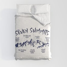 Seven Summits Mountain   Comforters