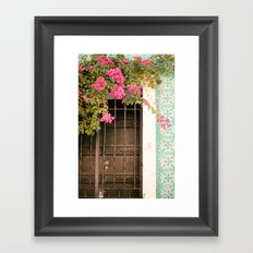 Door #6 Framed Art Print