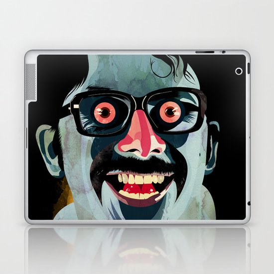Portrait of Alonso Quijada Laptop & iPad Skin
