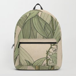 Lily Of The Valley Backpack