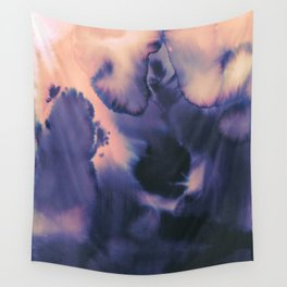 water color wave II collab Dylan Silva Wall Tapestry