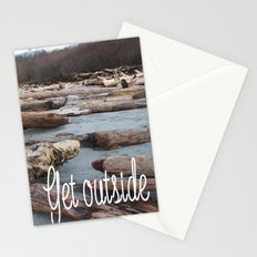 Get Outside in the UpperLeftUSA Stationery Cards