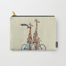 giraffe days lets tandem Carry-All Pouch