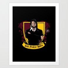 Harry Rollins Art Print