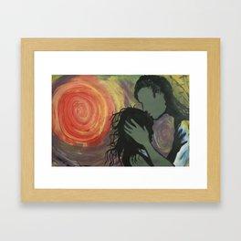 Zealous Love Framed Art Print