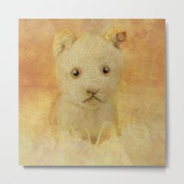 Little Lion cub Metal Print