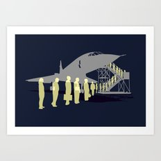 Final flight Art Print