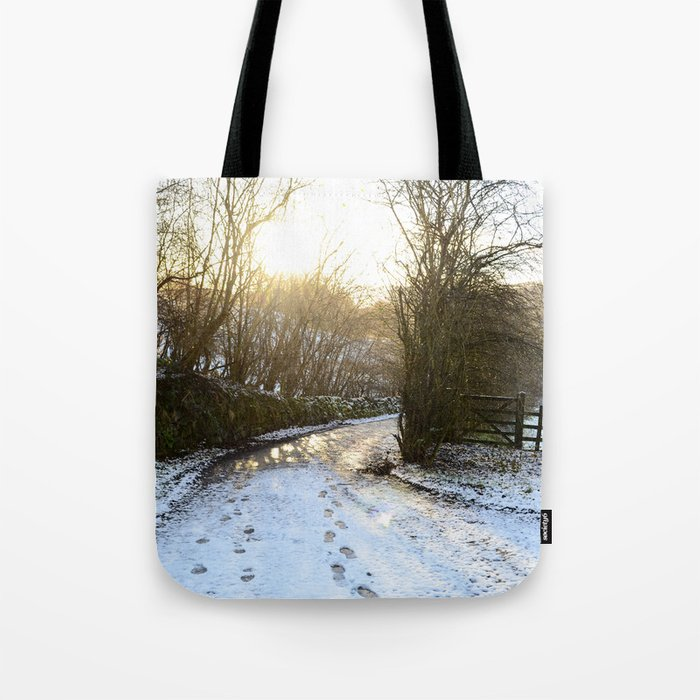 A Winter Morning Tote Bag