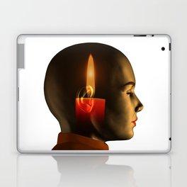 soul, human spirit, inner light Laptop & iPad Skin