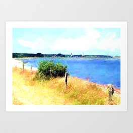 Places on this world Art Print