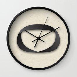 Möbius strip Wall Clock