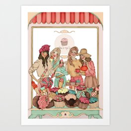 Sweet Temptation Art Print