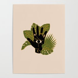 Mystic Hand Poster
