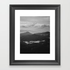 a dark earth Framed Art Print