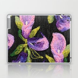 Embroidered callas Laptop & iPad Skin