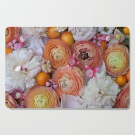 Flower Design 13 Cutting Board
