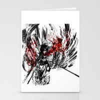 snk Stationery Cards featuring Ackerman by ururuty
