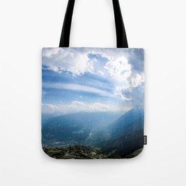 Meran // Mutspitze Tote Bag