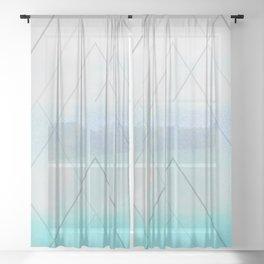 WINTER Sheer Curtain