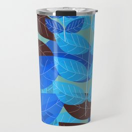 Exotic Blue Travel Mug