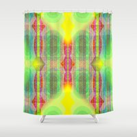 mod Shower Curtains featuring Mod Squad by Vikki Salmela