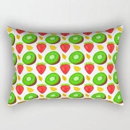 Strawberry Kiwi Rectangular Pillow