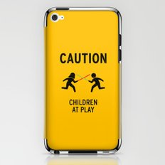 Children at Play iPhone & iPod Skin